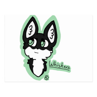 Whiskers Postcard