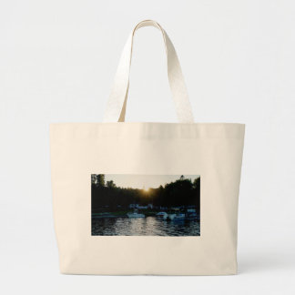 Whiskey Bay, St Joseph Island Large Tote Bag
