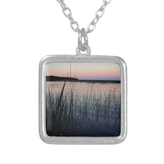 Whiskey Bay, St Joseph Island Silver Plated Necklace