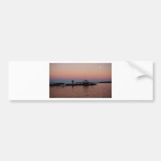 Whiskey Bay Sunset, St Joseph Island Bumper Sticker