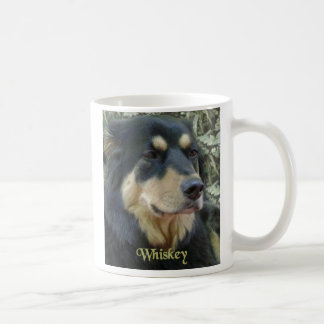 Whiskey / Best Friend right handed Mug