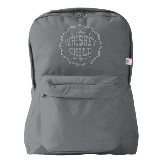 WHISKEY CHILD - Backpack w/Fall Harvest Logo