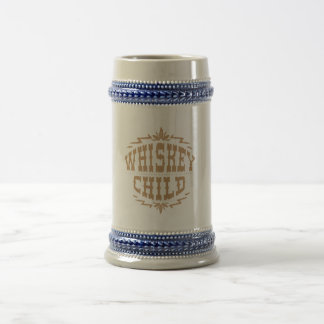 WHISKEY CHILD - Beer Stein with Fall Harvest Logo