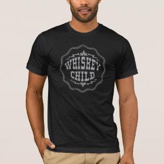 WHISKEY CHILD - Black T-Shirt w/Fall Harvest Logo