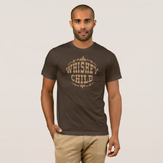 WHISKEY CHILD - Brown T-Shirt w/Fall Harvest Logo