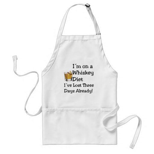 Whiskey Diet Aprons