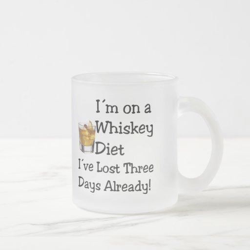 Whiskey Diet Mug