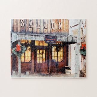 Whiskey Flat Saloon Puzzle