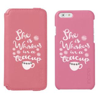Whiskey In A Teacup Incipio Watson™Wallet Case Incipio Watson™ iPhone 6 Wallet Case
