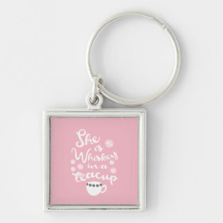 Whiskey In A Teacup Premium Keychain