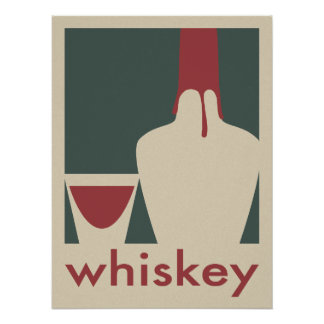 Whiskey Poster