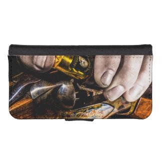 Whiskey Shot iPhone SE/5/5s Wallet Case