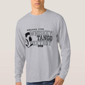 Whiskey Tango Foxtrot - Aviation Humor T-Shirt