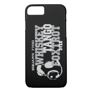 Whiskey Tango Foxtrot - Aviation Humour iPhone 8/7 Case