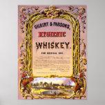 Whiskey Vintage Poster