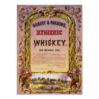 Whiskey Vintage Poster