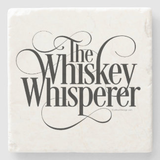 Whiskey Whisperer Stone Coaster