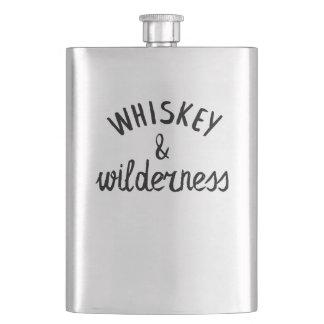 Whiskey & Wilderness Hip Flask