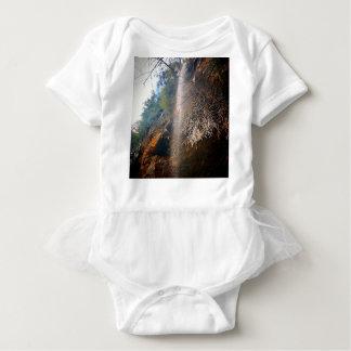 Whispering Falls, Hocking Hills Ohio Baby Bodysuit