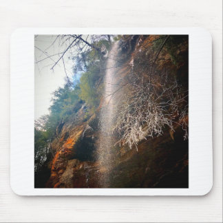 Whispering Falls, Hocking Hills Ohio Mouse Pad