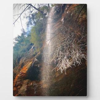 Whispering Falls, Hocking Hills Ohio Plaque