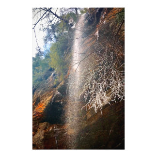 Whispering Falls, Hocking Hills Ohio Stationery