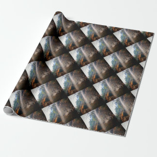 Whispering Falls, Hocking Hills Ohio Wrapping Paper
