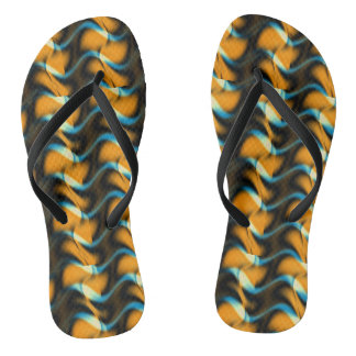 Whispering Golden Waves Thongs