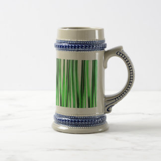 Whispering Green Grass Beer Stein
