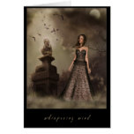 Whispering wind greeting card