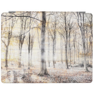 Whispering woodland in autumn fall iPad cover