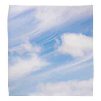 Whispy sky bandana
