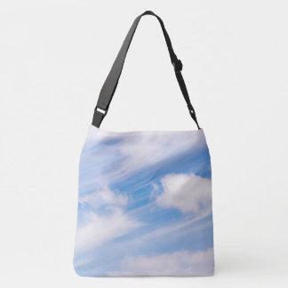 Whispy sky crossbody bag