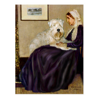 Whisterls Mother - Wheaten Terrier 1 Postcard