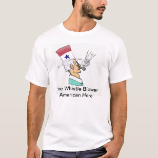 Whistle Blower - American Hero T-Shirt