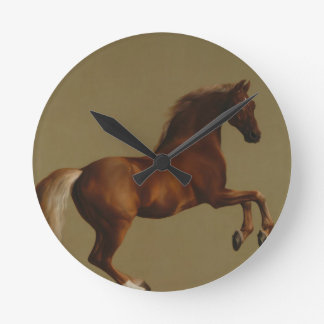 Whistlejacket by George Stubbs Round Clock