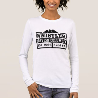 WHISTLER BRITISH COLUMBIA LONG SLEEVE T-Shirt