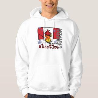 Whistler Canada ski hoodie