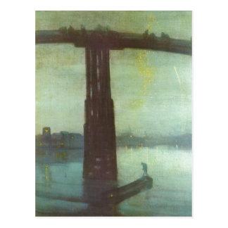 Whistler, James McNeill Die alte Battersea Br?cke: Postcard