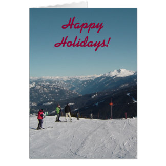 Whistler Mountain Christmas Card