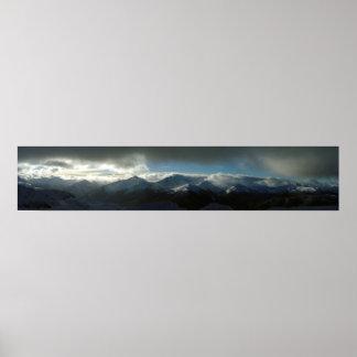 Whistler Panoramic Poster