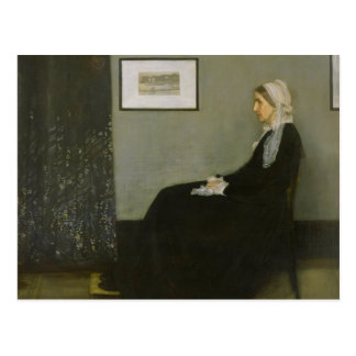 Whistler's Mother by James Abbot McNeill Whistler Postcard