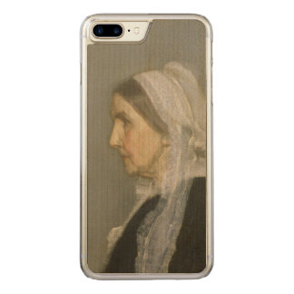 Whistler's Mother Carved iPhone 7 Plus Case