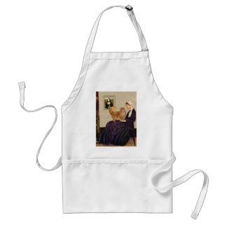 Whistlers Mother - Red Persian cat Standard Apron