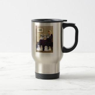 Whistlers Mother -  Shih Tzus (seven) Travel Mug