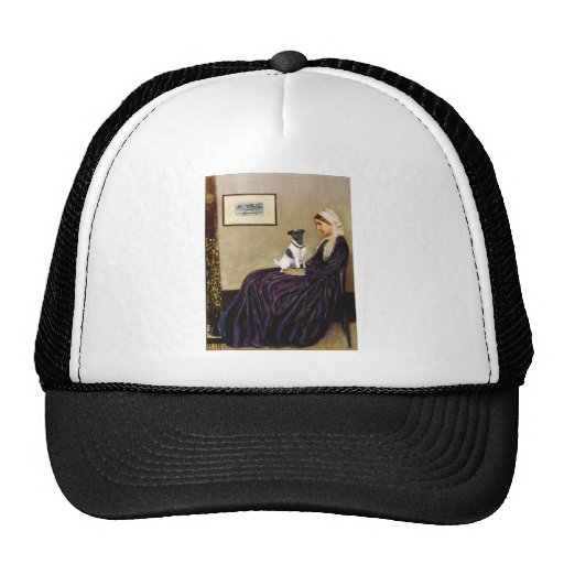 Whistlers Mother - Smooth Fox Terrier Trucker Hat