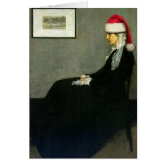Whistler's Santa Greeting Card