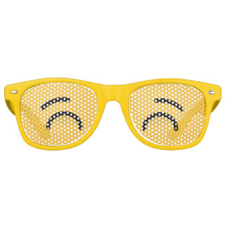 Whistling Face with Smiling Eyes Retro Sunglasses