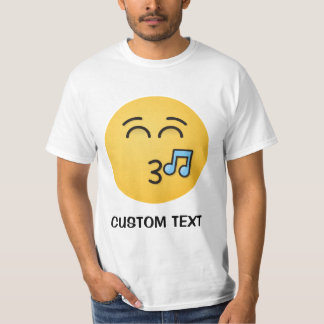 Whistling Face with Smiling Eyes T-Shirt