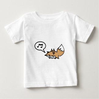 Whistling Fox Baby T-Shirt